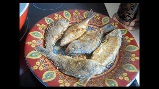 Как пожарить рыбу. Жарим речную рыбу, карась, окунь, плотва и т.д.