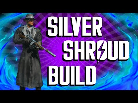 Fallout 4 Builds - The Silver Shroud - Superhero Build