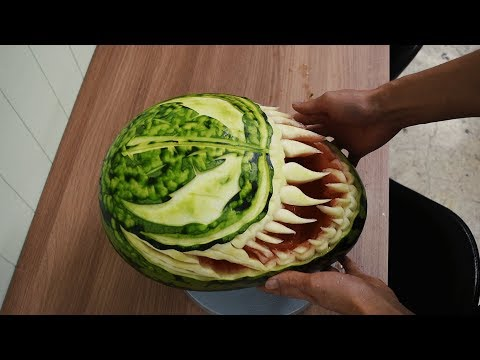 'Venom' Best watermelon carving/FCL Team