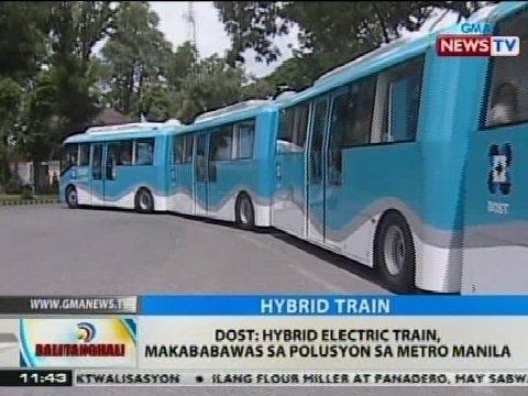BT: DOST: Hybrid electric train, makababawas sa polusyon sa Metro Manila