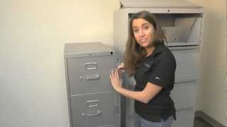 Abus File Cabinet Locking Bar Installation