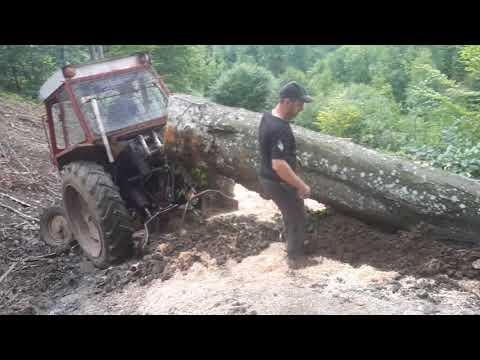 La tras de lemne cu utb 650