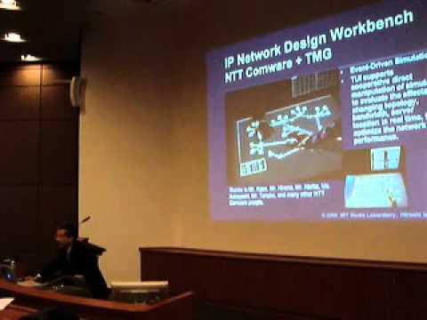 Hiroshi Ishii on Tangible Bits @ National University of Singapore