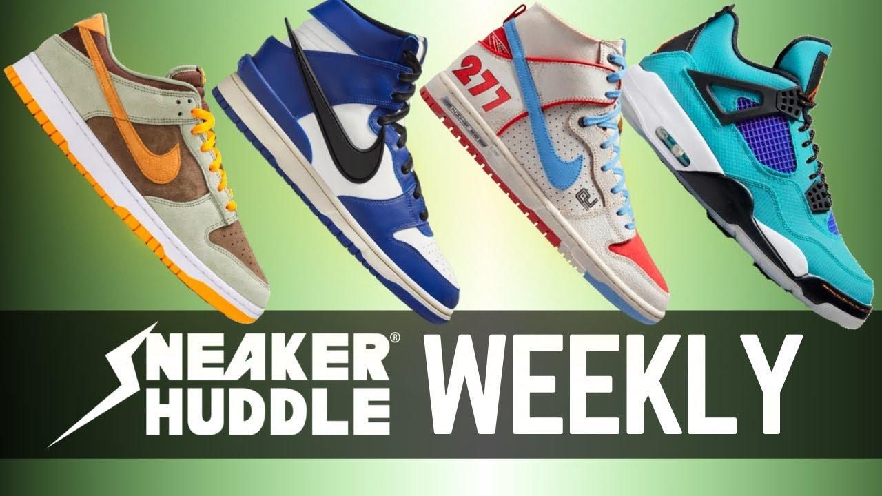 TOP Sneakers This Week! AMBUSH | Dusty Olive | Ishod Wair x Magnus Walker | Sneaker Huddle WEEKLY