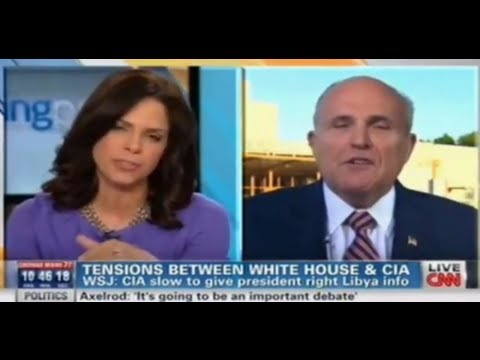 Benghazi: Soledad O'Brien Calls Out Giuliani
