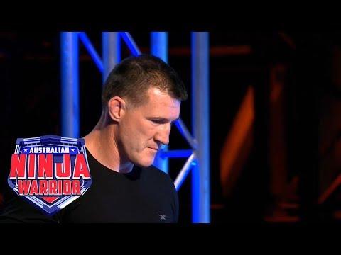 Ninja run: Paul Gallen   Australian Ninja Warrior 2018