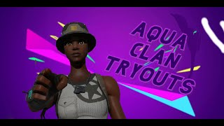 CLAN TRYOUTS!!!