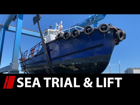 Sea Trial & Onto The Hardstand! - E02