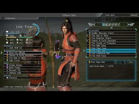 Dynasty Warriors 9 - Farming gold, rare coins, and gems guide