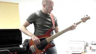 Highway Star 2009 (Deep Purple bass cover + organ solo on bass)