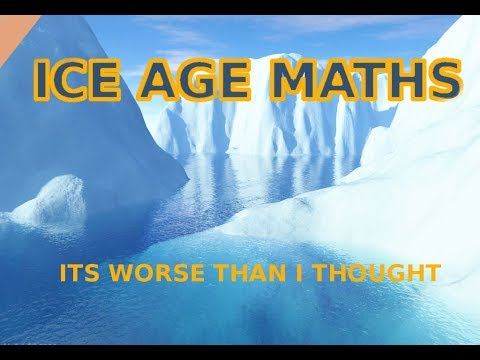 Mini Ice Age 2024 Maths- Its not good news - Milankovitch Cycles