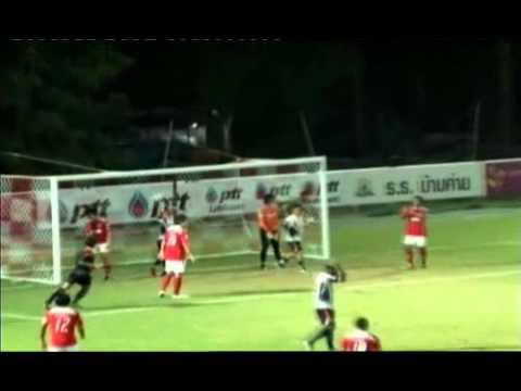 Football SiamTV   ปตท ระยอง เปิดบ้านเฉือน สุพรรณบุรี เอฟซี 1    0 ในศึกดิวิชั่น 1