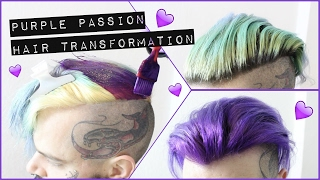 PURPLE PASSION HAIR TRANSFORMATION
