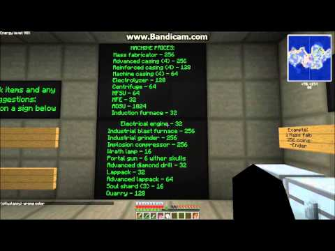 Minecraft FTB - Ep.14 - Bank and store