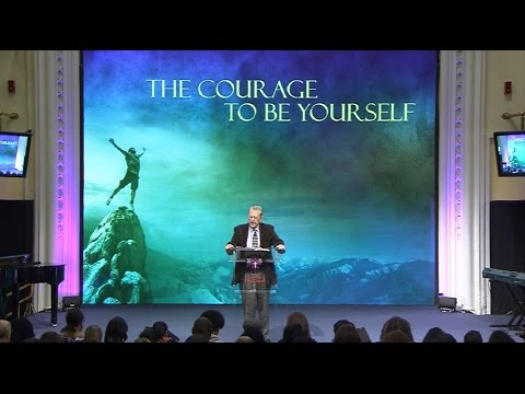 RT Kendall  The Courage to be Yourself