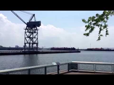 Outside IKEA, Red Hook, Brooklyn, New York (5-27-16)