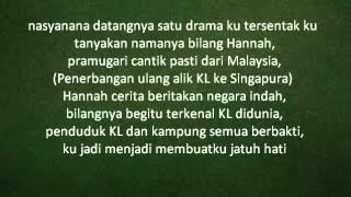 Komrad ft Malique Ibrahim - Jatuh Hati lyric