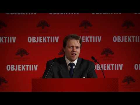 """Andro Roos ettekanne """"Milline oleks majanduslikult iseseisev Eesti?"""""""