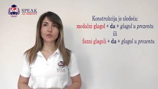 Serbian Lesson 5.4 - Modal verbs - Serbian language courses