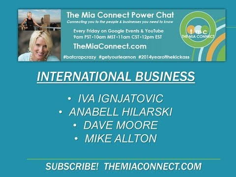The Mia Connect Power Chat - International Business & Cool Accents