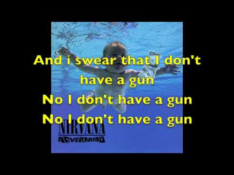 Nirvana - Come As You Are with lyrics