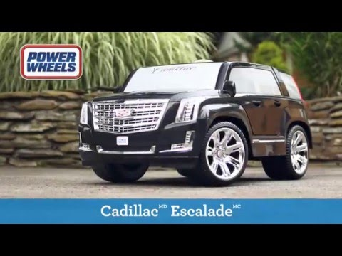 Fisher-Price - Power Wheels - Cadillac Escalade Ride-On | Toys R Us Canada