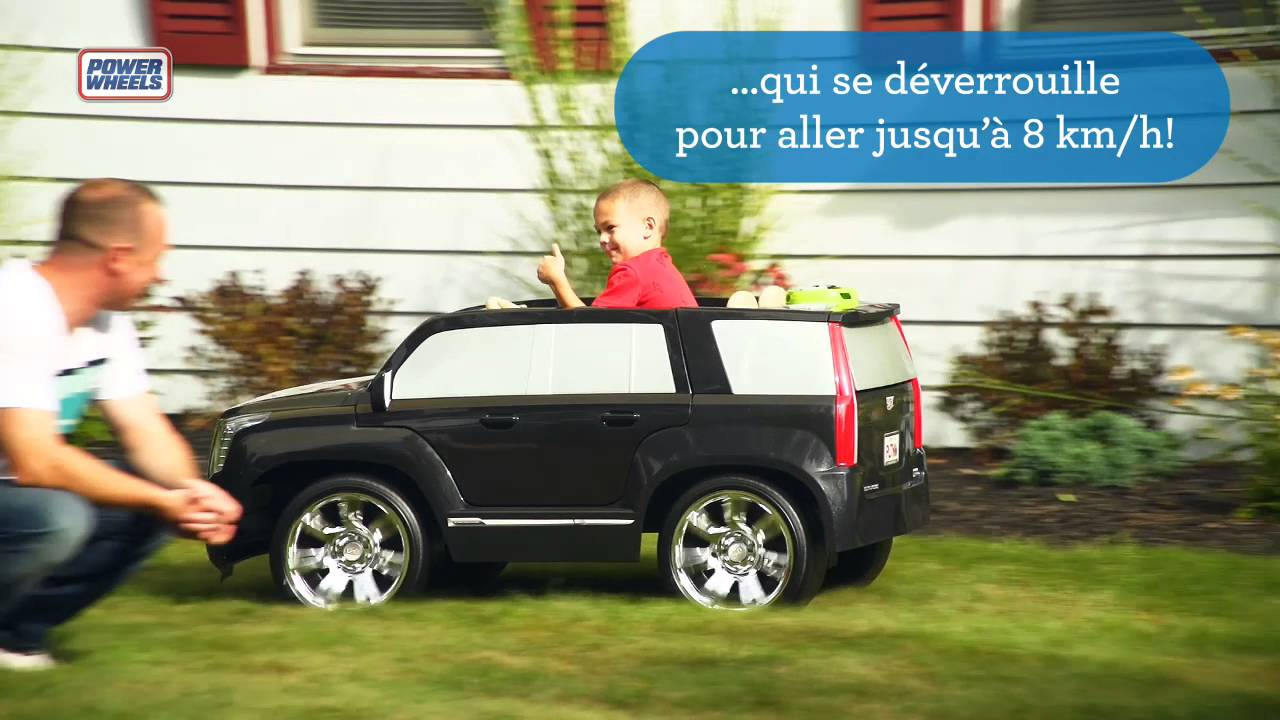 fisher price power wheels cadillac escalade ride on toys r us canada youtube fisher price power wheels cadillac escalade ride on toys r us canada