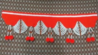 Woolen toran designs video clip