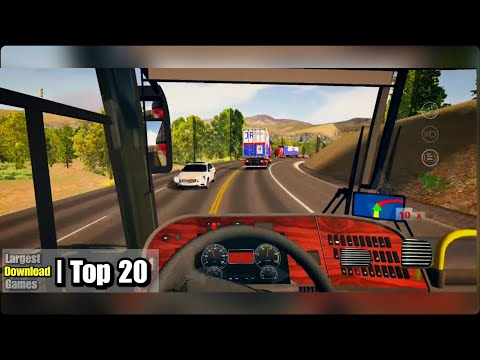 TOP 20 Biggest Download Sized Driving Games For ANDROID & /or IOS (Best Games)