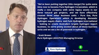 Investor Stream chats with: Pure Hydrogen (ASX:PH2) Managing Director Scott Brown (March 15, 2021)