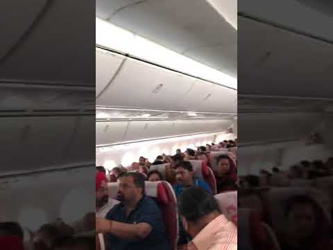 AIR INDIA AMRITSAR DELHI PLANE EMERGENCY LANDING. Watch till End