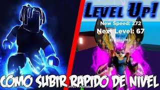 HOW TO FAST LEVEL UP IN Legends Of Speed ROBLOX ENGLISH
