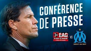 Guingamp - OM   La conférence de Rudi Garcia