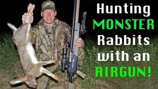Repeat youtube video Extreme Airgun Hunting - Giant rabbits with the Benjamin Rogue .357
