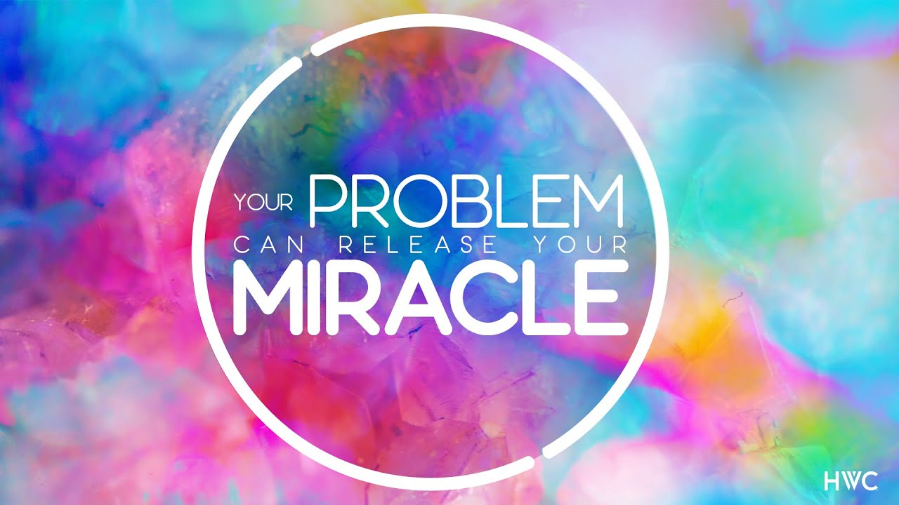 Your Problem Can Release Your Miracle| Miracle in the Moment | Pamela Begley