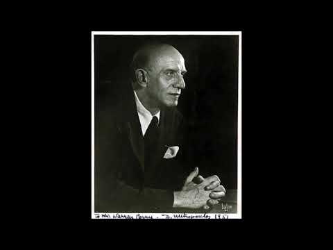 """Mendelssohn """"Symphony No 5"""" Dimitri Mitropoulos"""