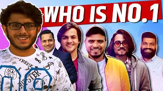 Who is No.1 Youtuber of India | Top 10 Indian Youtubers