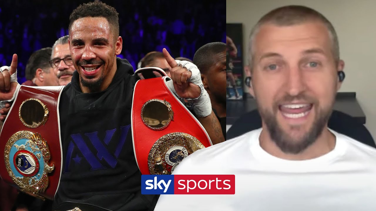 "Carl Froch hits back at Andre Ward after he called him ""not athletic & an overachiever"