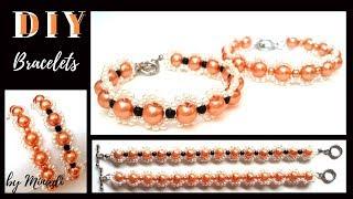 How to make beads bracelets. DIY Bracelets-easy-fast -elegant
