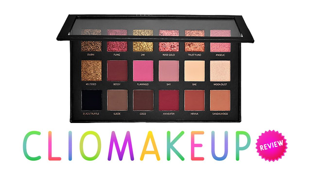 Recensione Palette Huda Beauty Rose Gold Edition Youtube