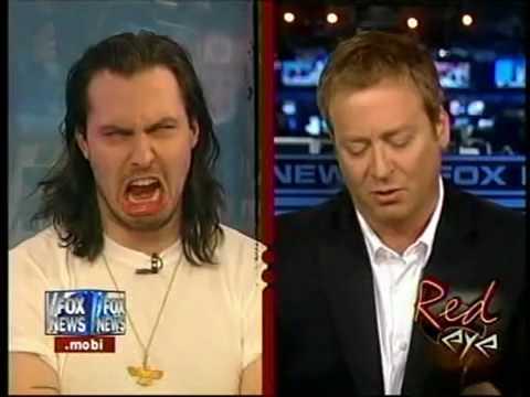 Andrew WK Fox News Demon Face