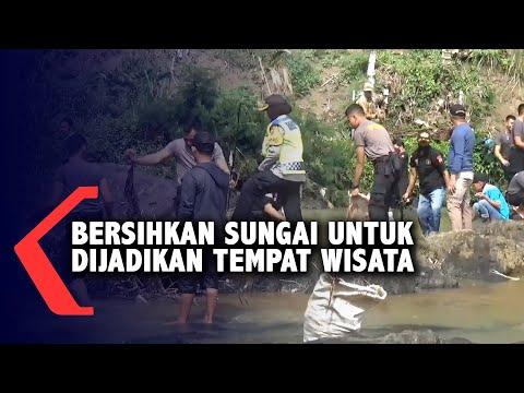 Bersihkan Sungai Untuk Dijadikan Tempat Wisata