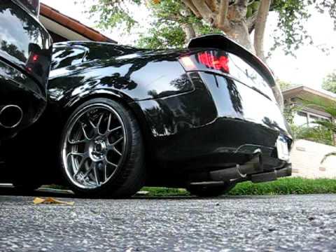 "G35 coupe Top Speed exhaust - Rim brand: PIAA ""Supermesh ..."