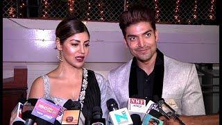 Gurmeet Choudhary And Debina Bonnerjee At Dipika Kakar And Shoaib Ibrahim Wedding Reception