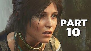 SHADOW OF THE TOMB RAIDER Walkthrough Gameplay Part 10 - MORAEKAH (PS4 PRO)