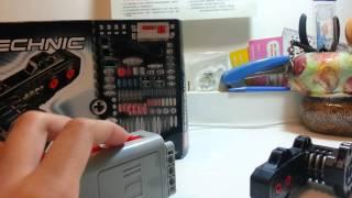LEGO TECHNIC 8287 MOTOR BOX Unboxing