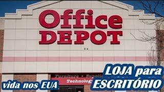 LOJA para ESCRITÓRIO dos EUA, OFFICE DEPOT ! produtos e preços