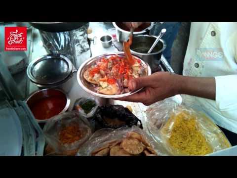 Mumbai Famous Street  Chaat -Ragada Dahi Puri -Sev Batata Puri -Mix Bhel-Ragada Chaat