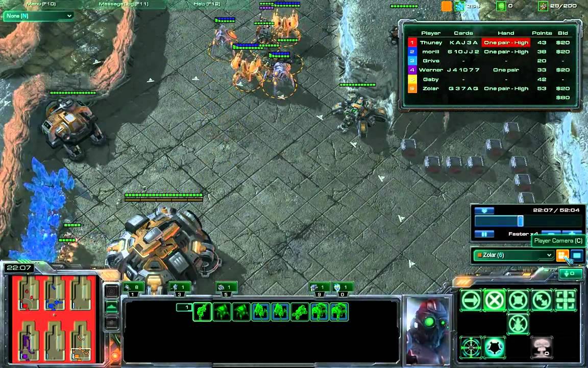 Starcraft poker defense single player misty kitty slots free game