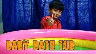 Bathtub for kids unboxing ||